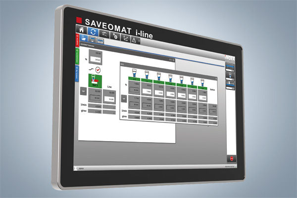 SAVEOMAT i-line - dosing station for precision requirements
